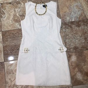NWOT Shelli Segal Ivory Dress Sz 10